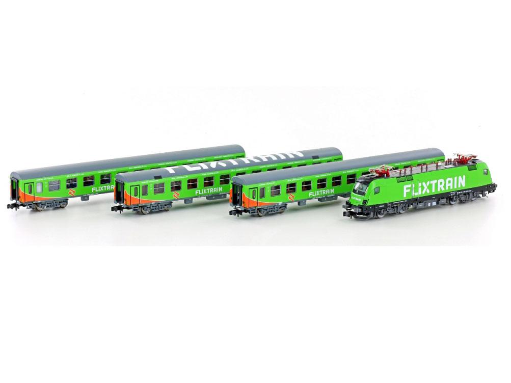 Lemke LC95001S: DCC + Sound Train Set Flixtrain Set 1 ...