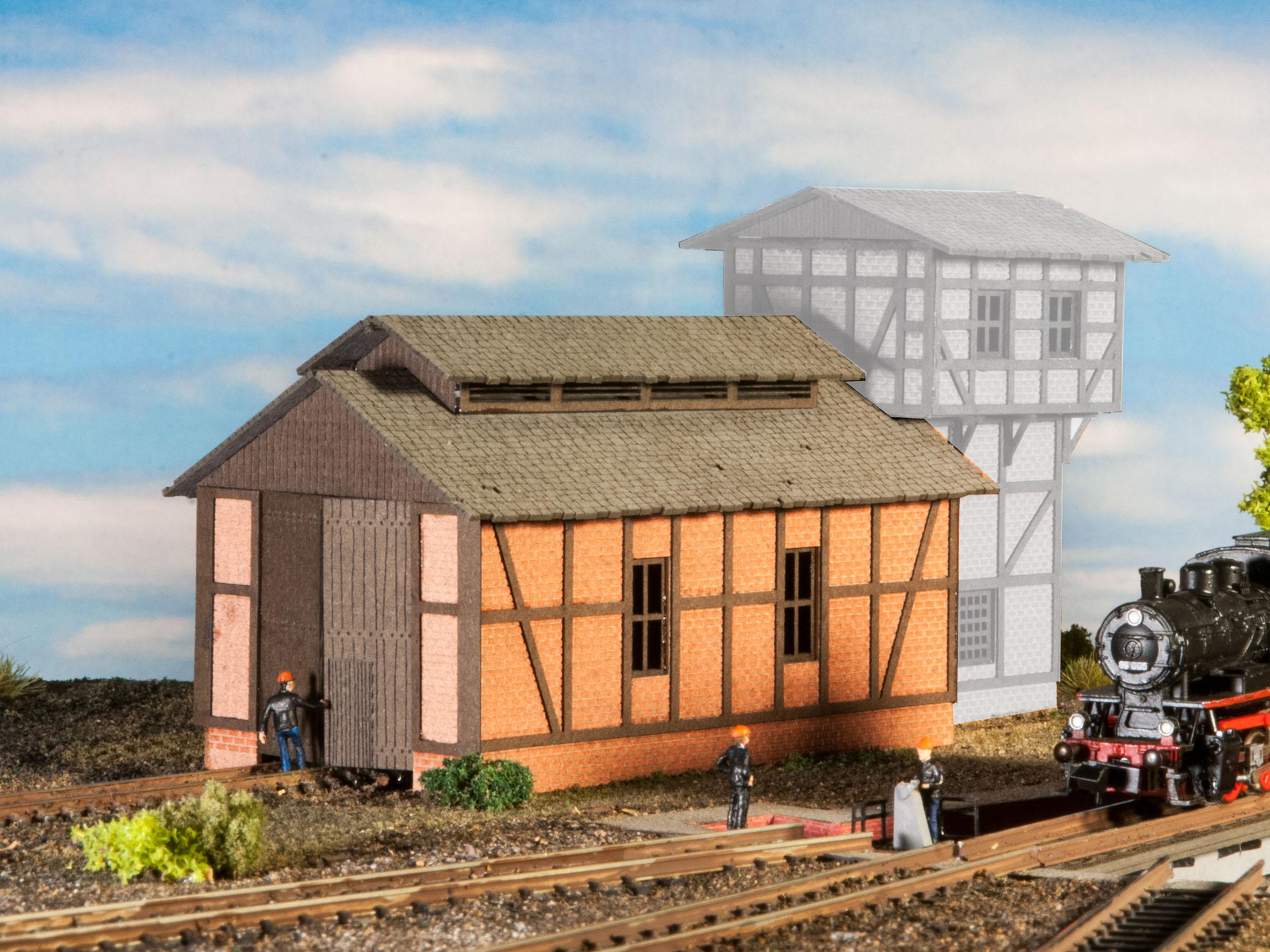 dailymall 20pcs Modellb/äume Tisch B/äume Modellbau Modellbahn Landschaftsmodell Landschaften Miniatur-Ornament-Set