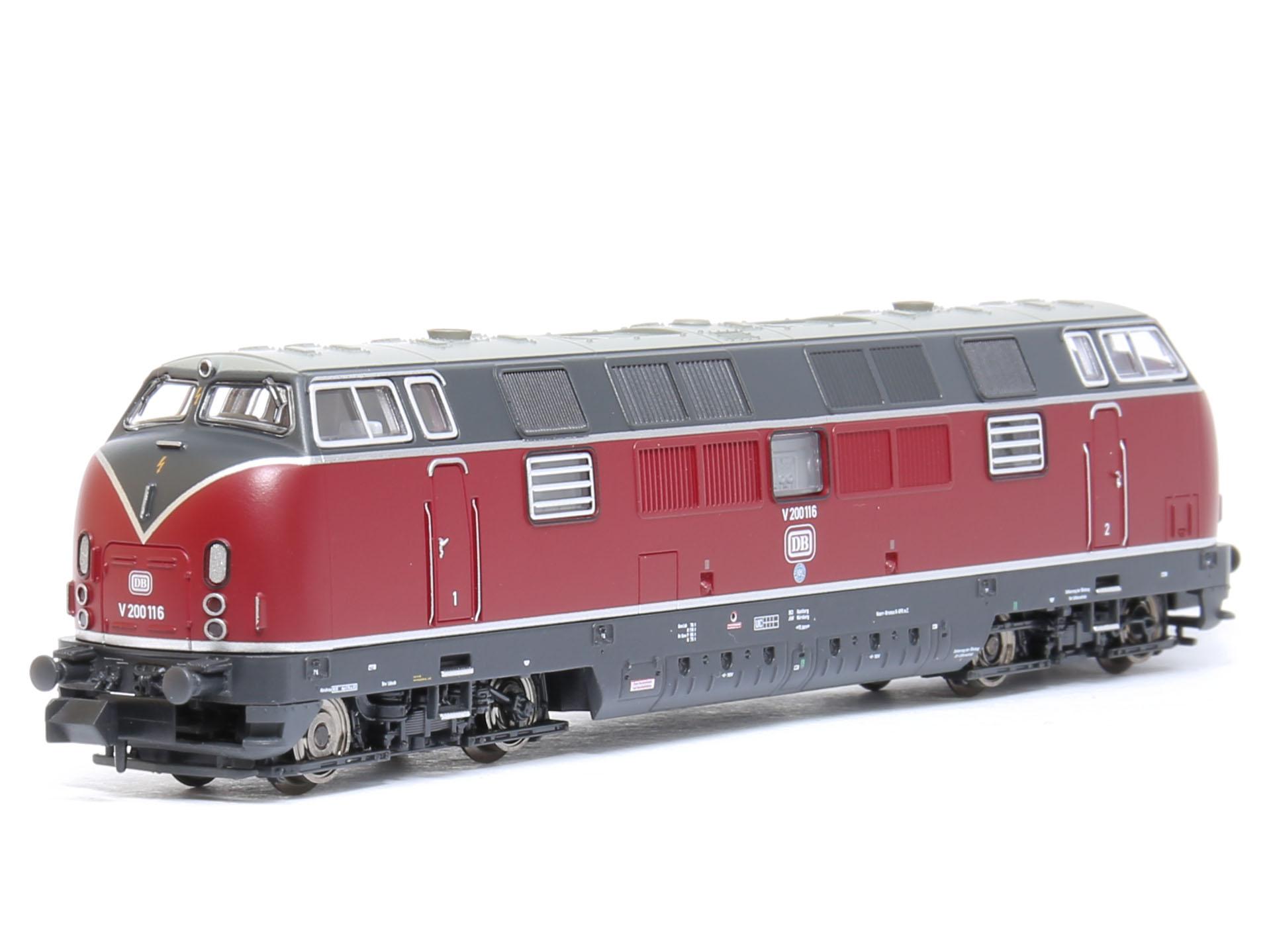 Piko 40503 Dcc Sx Sound Diesel Locomotive V 200 1 Db Ep Iii 1 160 Dm Toys