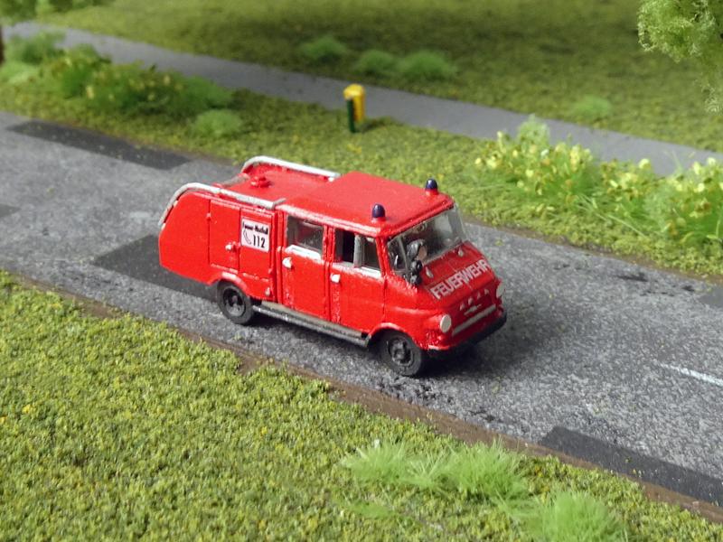 1:72 Neuware Feuerwehr Magirus DL 18 Opel Blitz Atlas Restposten